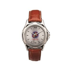 The Patton Watch - Mens - Silver/Silver/Brown