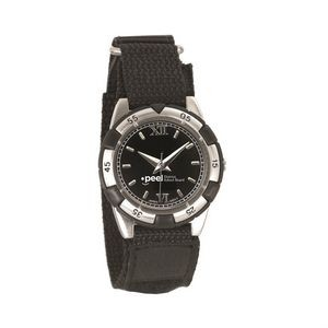 The Vivacious Watch - Mens - Black/Silver/Black