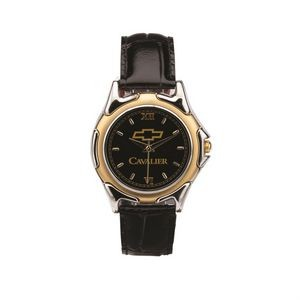 The St Tropez Watch - Mens - Black/Gold/Black