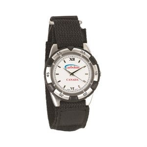 The Vivacious Watch - Mens - White/Silver/Black