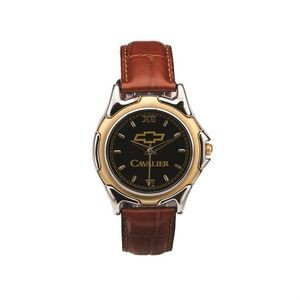 The St Tropez Watch - Mens - Black/Gold/Brown